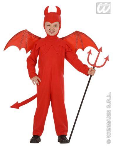 costume diavolo diavoletto satana per bambino HALLOWEEN travestimento carnevale
