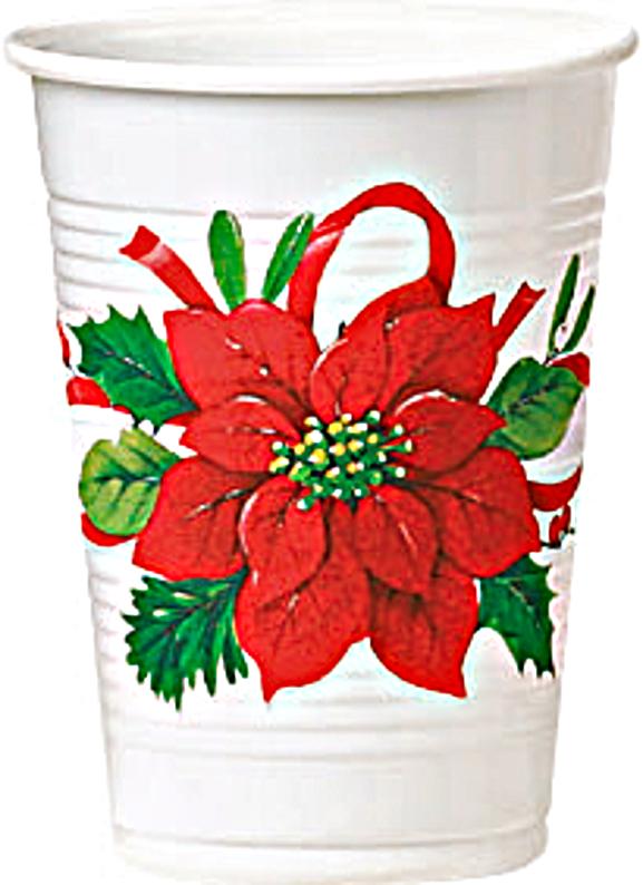 Stella Di Natale Con Bottiglie Di Plastica.Dettagli Su Bicchieri In Plastica Con Stella Di Natale Cf 8 Pz Natale Feste E Party