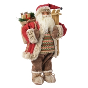 BABBO NATALE COUNTRY H. 60 CM. KAEMINGK DECORIS