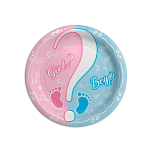 PIATTI BABY GIRL OR BOY? CM. 18 CF. 8 PZ.