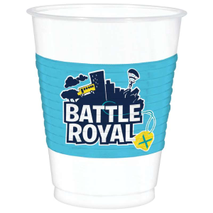 BICCHIERE MAXI BATTLE ROYAL FORTNITE CF. 8 PZ.