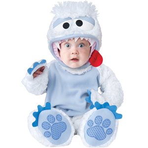 COSTUME INCHARACTER ABOMINABLE SNOWBABY TOP QUALITY DELUXE 6/12 MESI