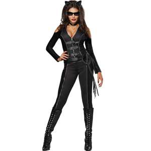 COSTUME FATAL FELINE CATWOMAN DONNA S