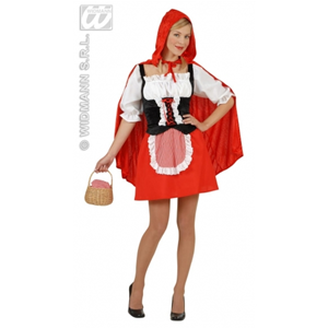 COSTUME CAPPUCCETTO ROSSO SEXY TG. S WIDMANN