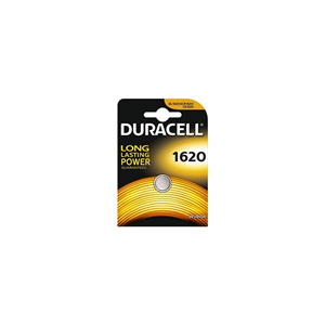 BATTERIA A BOTTONE A LITIO 3V DURACELL 1620