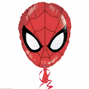 PALLONCINO MYLAR ELIO MASCHERA SPIDERMAN FESTE E PARTY