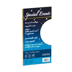 BUSTE PERLATE BIANCHE SPECIAL EVENTS TOP COLLECTION FAVINI 11X22 GR.120 CF.10 PZ.