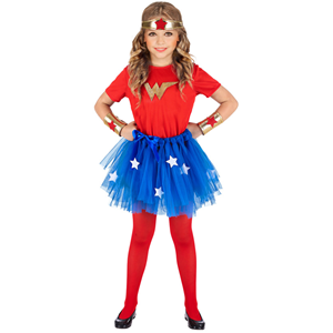 COSTUME WONDER GIRL 3/4 ANNI WIDMANN